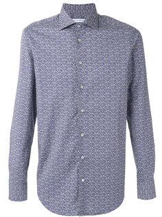 рубашка с сплошным узором Etro