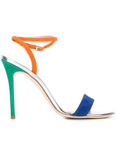 colour block sandals  Giuseppe Zanotti Design