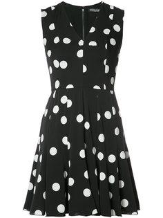 короткое платье в горох Dolce & Gabbana