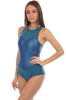 Гидрокостюм (Комбинезон) женский Roxy Pop1mbkiniracer Blue Aster