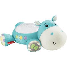 "Плюшевая игрушка-проектор ""Бегемотик"", Fisher Price Mattel"