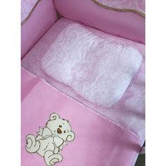 Подушка анатомическая, цвет розовый Gul Sara