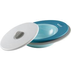 Набор тарелок ELLIPSE, Beaba, синий BÉaba