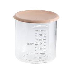 Контейнер для хранения Maxi+Portion 420мл, Beaba, бежевый BÉaba