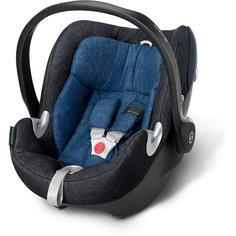 Автокресло детское Aton Q Plus, 0-13 кг, Cybex, True blue