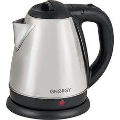 Чайник E-212 (1,2 л, диск), ENERGY, стальной