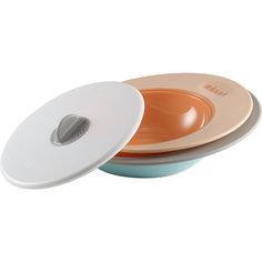 Набор тарелок ELLIPSE, Beaba, бежевый BÉaba