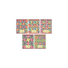 """Комплект тетрадей """"Красочный калейдоскоп"""" (10 шт), 24 листа, Канц-Эксмо"""