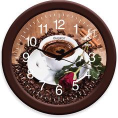 "Часы настенные""Кофе"", ENERGY"