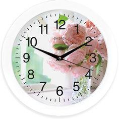 """Часы настенные """"Цветы"""", ENERGY"""