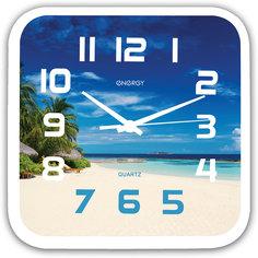 """Часы настенные """"Пляж"""", ENERGY"""