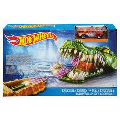 Игровой набор Crocodile Crunch, Hot Wheels Mattel