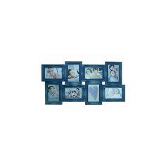 Фоторамка Platinum пластик, цвет синий джинс с патиной под старину, Яркий праздник