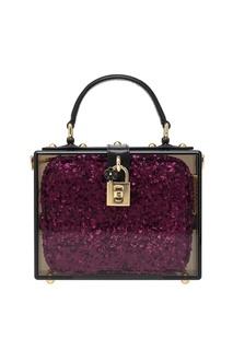 Сумка с пайетками Dolce & Gabbana