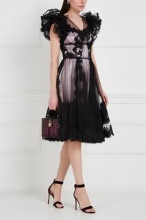 Полупрозрачное платье Dolce & Gabbana