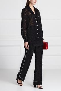 Костюм из шелка и хлопка Dolce & Gabbana