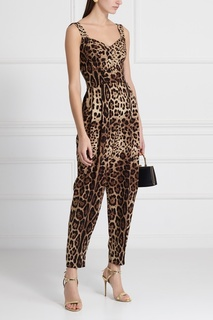 Шелковый комбинезон Dolce & Gabbana