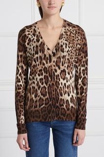Пуловер из кашемира и шелка Dolce & Gabbana