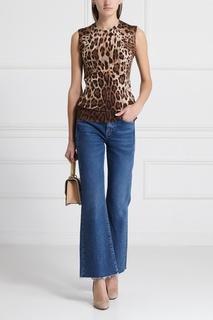 Джемпер из кашемира и шелка Dolce & Gabbana