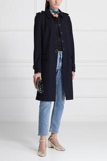 Шерстяное пальто Dolce & Gabbana