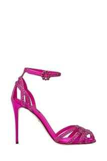 Замшевые босоножки Dolce & Gabbana