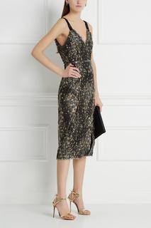 Платье из жаккарда Elissа Erdem