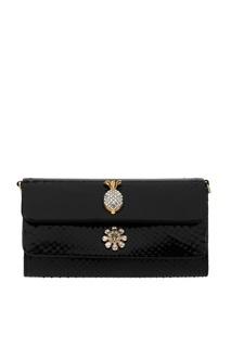 Клатч из кожи питона Dolce & Gabbana