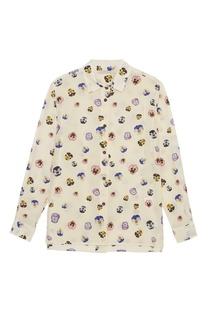 Шелковая блузка Christopher Kane