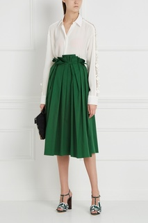 Хлопковая юбка Rochas