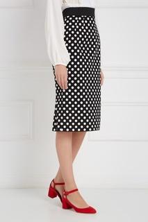 Хлопковая юбка-карандаш Dolce & Gabbana