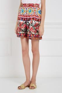 Шелковые шорты Dolce & Gabbana