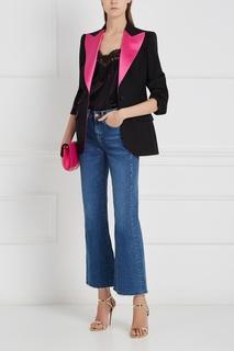 Жакет из шерсти и шелка Dolce & Gabbana