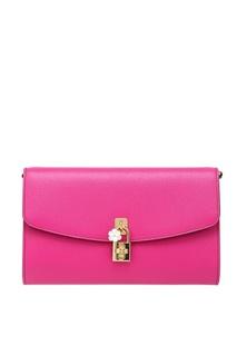 Кожаный клатч Dolce & Gabbana