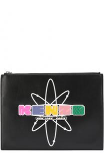 Клатч Nasa с аппликацией Kenzo