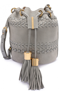 Замшевая сумка Vicki с плетением See by Chloé