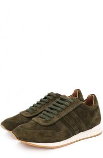 Замшевые кроссовки на шнуровке Ralph Lauren