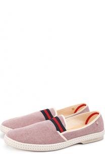Текстильные эспадрильи с контрастной отделкой Rivieras Leisure Shoes