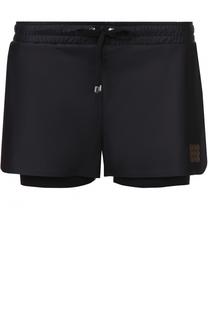 Спортивные мини-шорты с эластичным поясом Monreal London