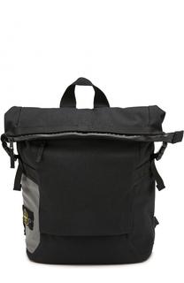 Текстильный рюкзак на молнии Stone Island