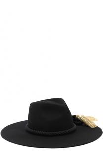 Шерстяная шляпа с кистями Benoit Missolin