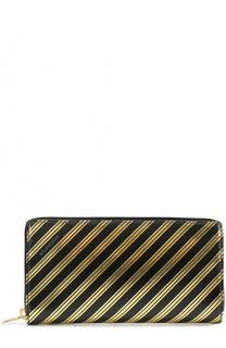 Кожаный кошелек на молнии Balenciaga