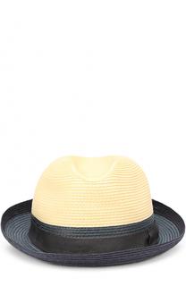 Шляпа-хомбург с лентой Giorgio Armani