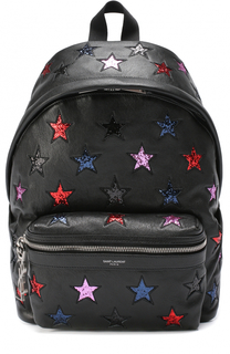 Рюкзак City Mini Star с аппликацией Saint Laurent