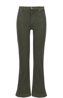 Укороченные расклешенные джинсы 7 For All Mankind