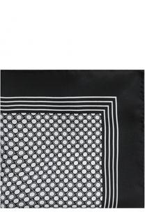 Шелковый платок с узором Dolce & Gabbana