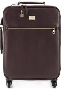 Кожаный чемодан Sicily Dolce & Gabbana