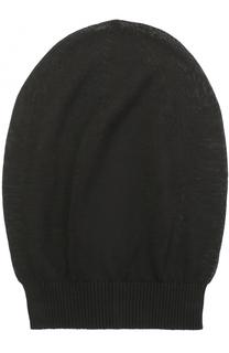 Хлопковая шапка бини Rick Owens