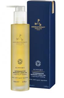 Успокаивающее масло для чувствительной кожи тела Support Aromatherapy Associates