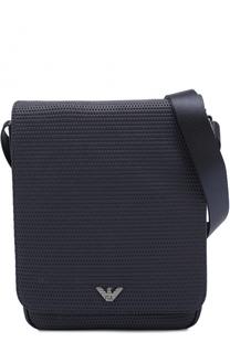 Плетеная сумка-планшет Armani Jeans