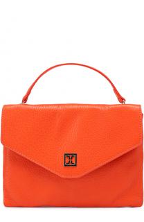 Кожаная сумка на цепочке Coccinelle